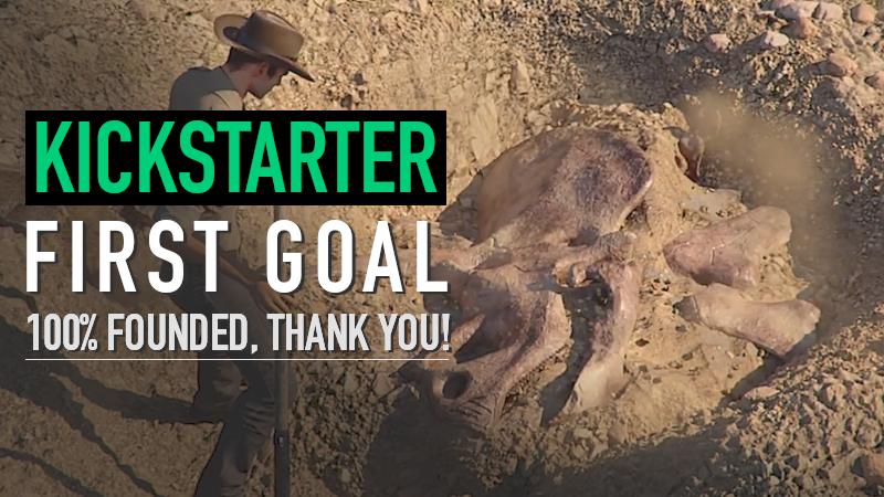 Dinosaur Fossil Hunter Kickstarter